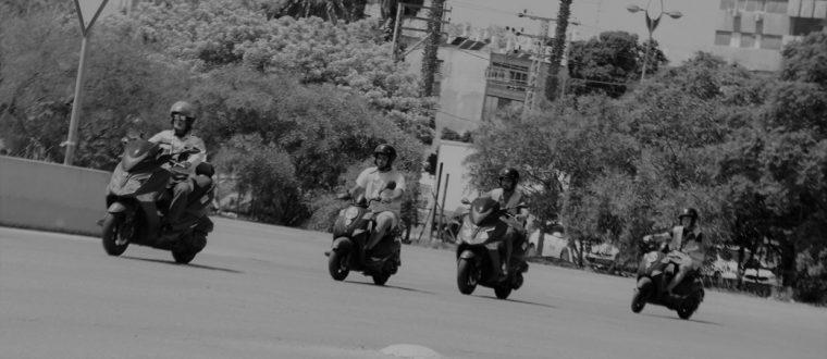 לימוד נהיגה לאופנועים